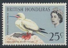 British Honduras SG 209 SC # 174 MLH  Birds Booby  see scans
