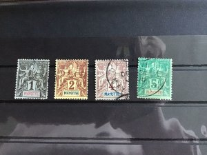 French Colony Mayotte  used   stamps   R24703