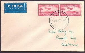 NEW ZEALAND 1937 First flight cover Nelson to Gisborne.....................34875