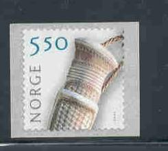 Norway Sc 1354  2003 5.5 kr knife handle coil stamp mint NH