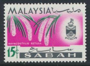 SABAH SG 429  SC# 22 MVLH* Flower  see scans /details