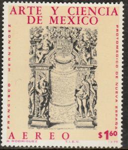 MEXICO C513, Art & Science (Series 5) MINT, NH. F-VF.