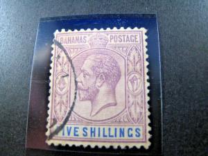 BAHAMAS SCOTT #55 - 1912  VF/USED     (apsB25)