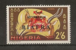 Biafra 1968 2/6d SG13 Mint
