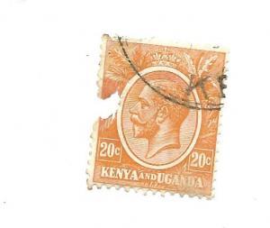 Kenya, Uganda & Tanganyika 1922 - Filler - Scott #25 *