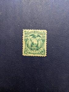 Ecuador 17 XFMH, CV $2