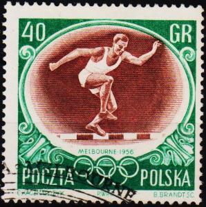 Poland. 1956 40g S.G.992 Fine Used