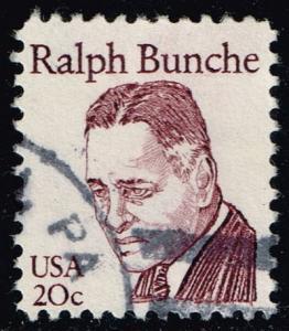 US #1860 Ralph Bunche; Used (0.25)