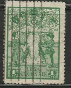 Italy Laga Nazionale Cinderella Poster Stamp Reklamemarken A7P4F794