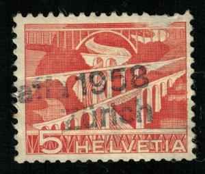 1958, Helvetia, 5c (RТ-1030)