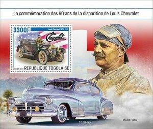 2021/06- TOGO -  LOUIS CHEVROLET           1V    MNH **