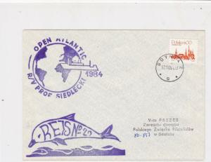 Poland 1984 Arctic Antarctic Polar Expedition Dolphin World Stamps Cover Rf23181