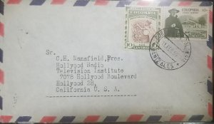 O) 1959 COLOMBIA, DEPARTMENTAL ISSUE - COFFEE PICKING, CALDAS DEPARTMENT, SCT 68