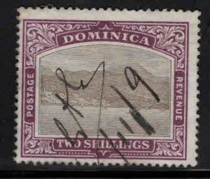 DOMINICA Scott 32 Used Manuscript cancel