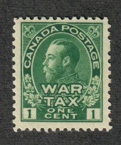 Canada Sc#MR1 M/NH/F-VF+, War Tax, Cv. $60