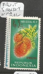 Indonesia Fruit SC B132-4 MNH (1ckr)