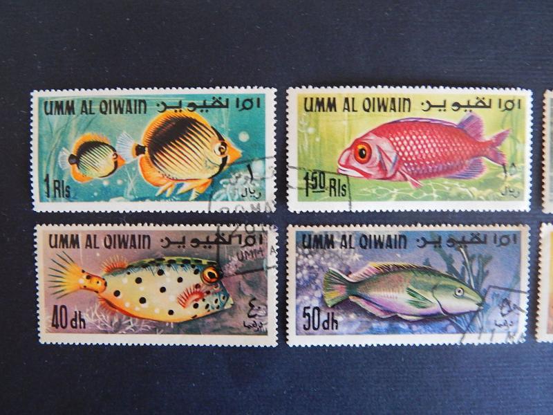 Fish, series, Umm Al Quwain, №110(IR)