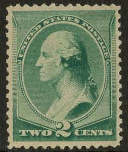 US Scott #213 Mint, VF, Hinged