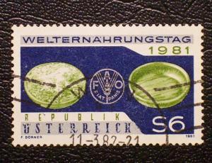 Austria Scott #1193 used