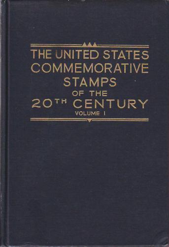 US Commemorative Stamps of the 20th Century, Max Johl. Matched set of 2 volumes