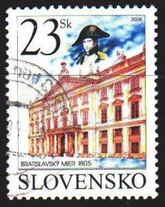 Slovakia. 2005. 513. Palace in Bratislava. USED.
