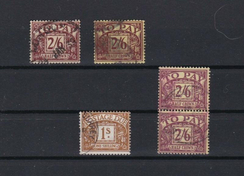 british postage due  stamps ref r11177