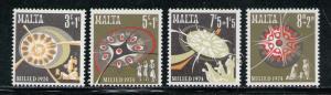 MALTA 1974 MNH SC.B16/B19 Christmas
