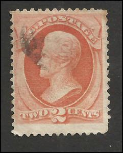 # 183 Vermillion Used Andrew Jackson