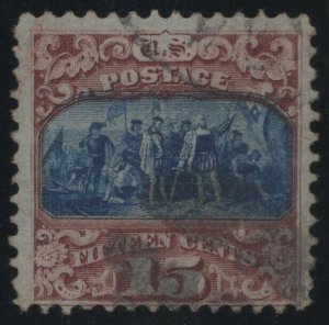 #119 Used, Fine, With PSE Cert., SCV $190. (GP2 11/14/19)