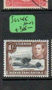 KENYA, UGANDA, TANGANYIKA  (PP1505B) KGVI  1/-  SG 145   MOG