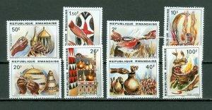 RWANDA 1979 ARTS #926-33..SET...MNH...$6.70