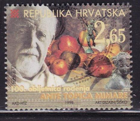 Croatia 1998 Ante Topic Mimara ART  VF/NH