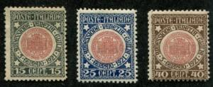Italy SC# 130-2 Seal of Trieste set MNG/MH