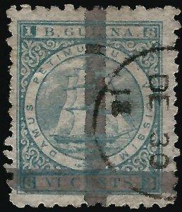 British Guiana #83 SG 141 Used F-VF...Fill a key British Colony spot!