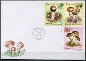 Korea 2017. Matsutake Mushrooms (Tricholoma matsutake) (I) (Mint) FDC