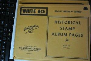 Minkus Historical Stamp album pages for Ireland