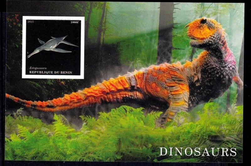 10pcs Animals Nature Prehistoric Dinosaurs Private Local issue PL25 not MNH