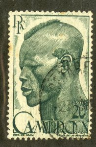 FRENCH CAMEROUN 320 USED SCV $3.25 BIN $1.40 MAN