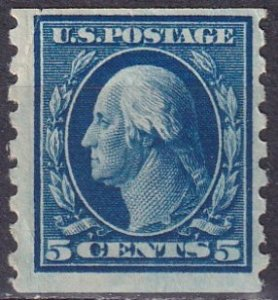 US #396 F-VF Unused CV $60.00  (Z4453)