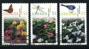 Canada #2145a,b,c  used VF 2006 PD