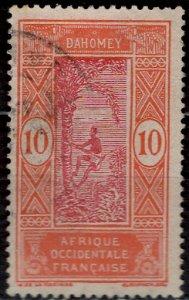 Dahomey 1913: Sc. # 47; O/Used Single Stamp