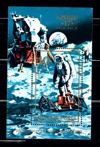 Hungary C327 MNH 1973 Apollo 17 S/S