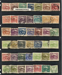 STAMP STATION PERTH  Czechoslovakia #42 Used Selection - Unchecked