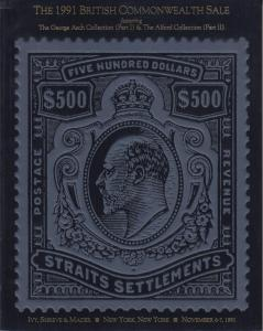 The 1991 British Commonwealth Sale. Ivy, Shreve & Mader Auction. 2 Collections