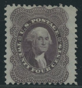 #45 24c 1875 RE-ISSUE VF+ WITH PF CERT CV $4,250 WLM9522