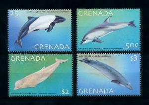 [99655] Grenada 2001 Marine Life Whales Dolphins  MNH