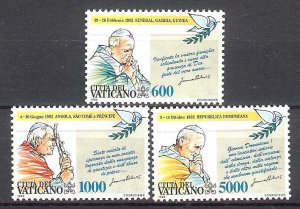 1993 - Vatican Sc# 927-930 - Mint VF/NH