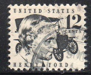 USA 1286A - Used - Henry Ford / 1909 Model T (1)