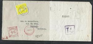 ZIMBABWE (PP1405B)    SHORT PAID POSTAGE DUE 6C    1980