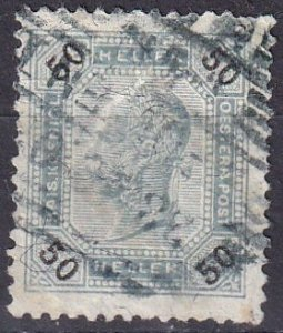 Austria #81a F-VF Used CV $11.00 (SU7701)